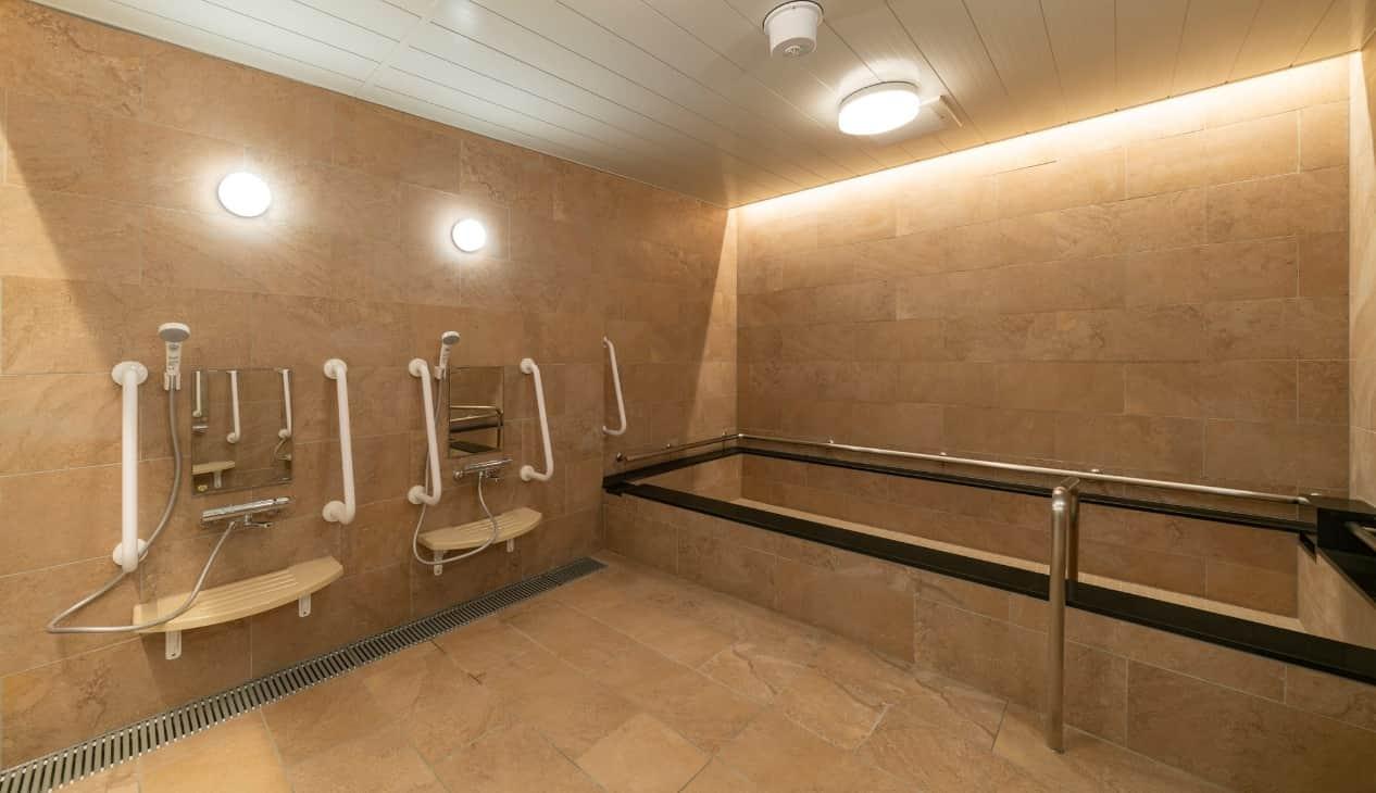 あさひリハリゾート大浴場